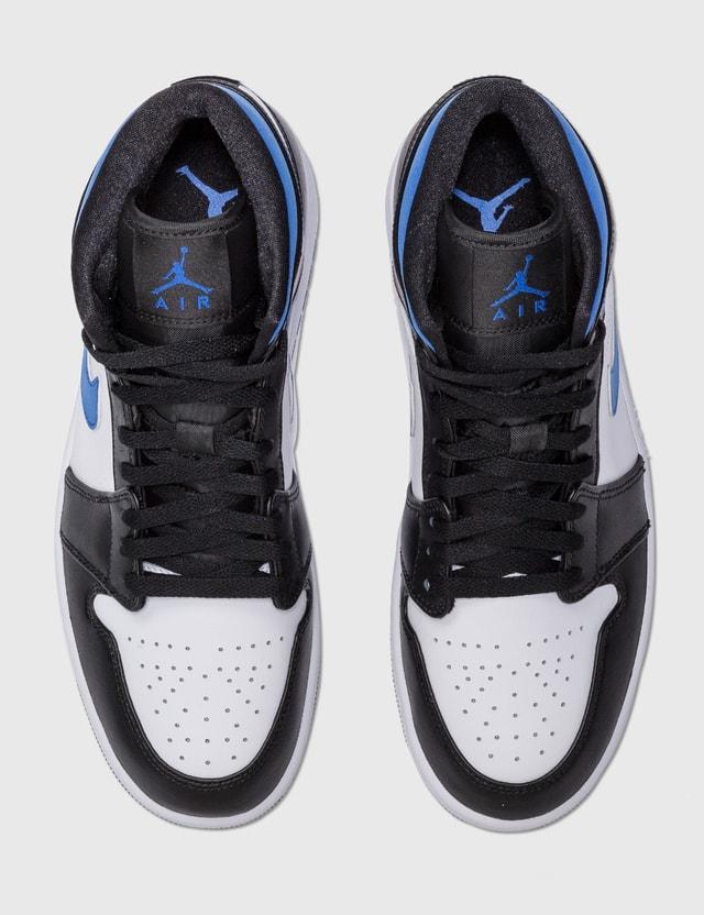 Nike Air Jordan 1 Mid White/racer Blue-black Men