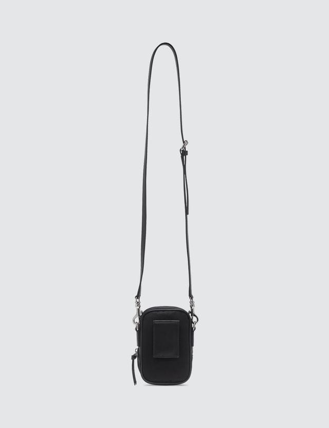 Versace Two-way Nylon Crossbody Bag