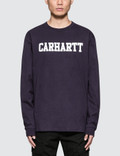 Carhartt Work In Progress College L/S T-Shirt Picture