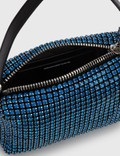Alexander Wang Heiress Rhinestone Medium Pouch Cobalt Women
