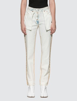 MM6 Maison Margiela Inside Out Jeans