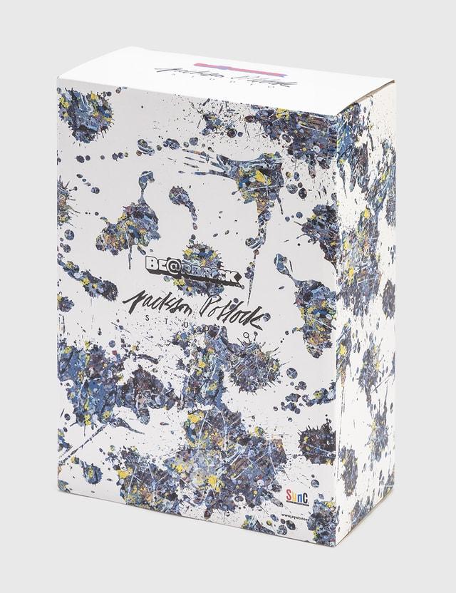 Medicom Toy Be@rbrick Jackson Pollock Studio (Splash) 100% & 400% Set