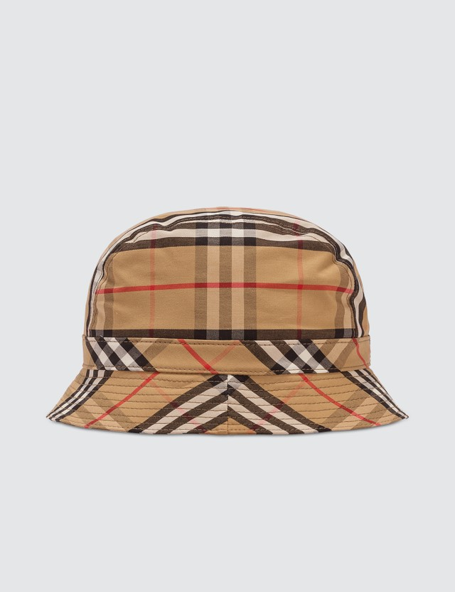 Burberry Burberry Vintage Check Bucket Hat