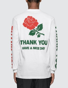 Chinatown Market Thank You L/S T-Shirt