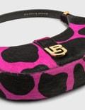 Les Petits Joueurs Cindy Moon Logo Bag Giraffa Fucsia Women