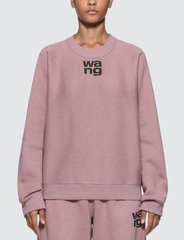 Alexander Wang.T Wash & Go Dense Fleece Sweatshirt