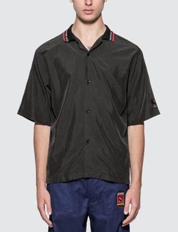 Martine Rose Rib Collar Short Sleeve Shirt