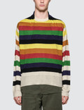 JW Anderson Multi Color Stripe Knit Picture