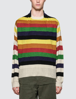JW Anderson Multi Color Stripe Knit