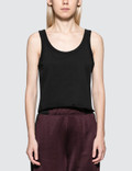 Alexander Wang.T Dry French Terry Tank With Distressed Hem Picutre