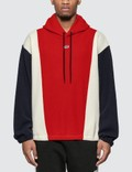 MSGM Colorblock Fleece Hoodie Picture