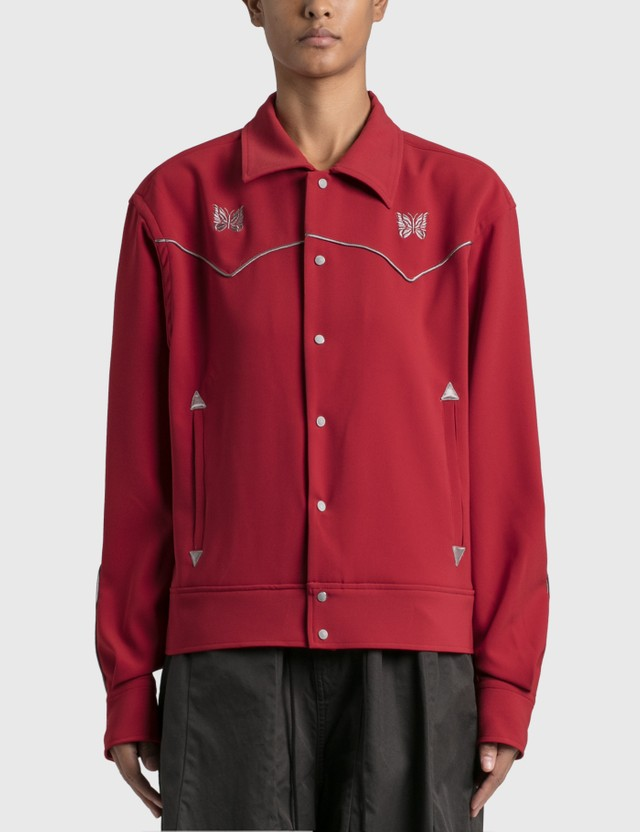 Needles Piping Cowboy Jacket Red Women