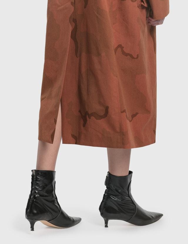 Marine Serre Regenerated Military Coat 0 Black Women
