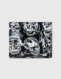 Alexander McQueen Painted Skull Wallet Picutre