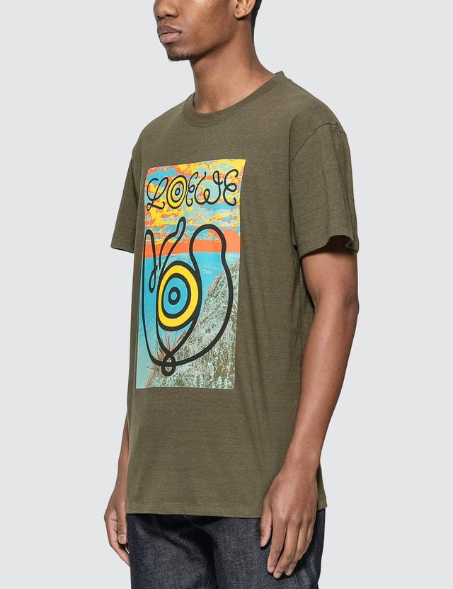 Loewe ELN T-Shirt Khaki Green Men