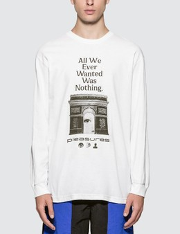 Pleasures Nothing Long Sleeve T-shirt