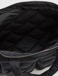 Bottega Veneta Light Paper Nylon Puffy Tote Black  Men