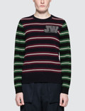 JW Anderson Logo Patch Stripe Jumper Picutre