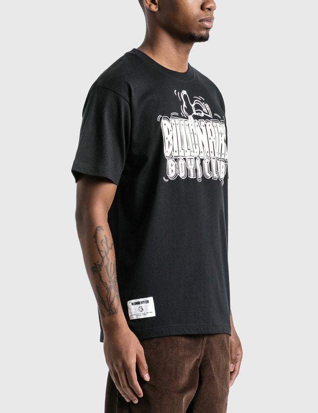 Billionaire Boys Club Billionaire Boys Club x Peanuts Straight Logo T-Shirt Black Men