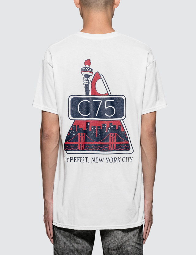 Club 75 NY State Of Mind S/S T-Shirt White Men