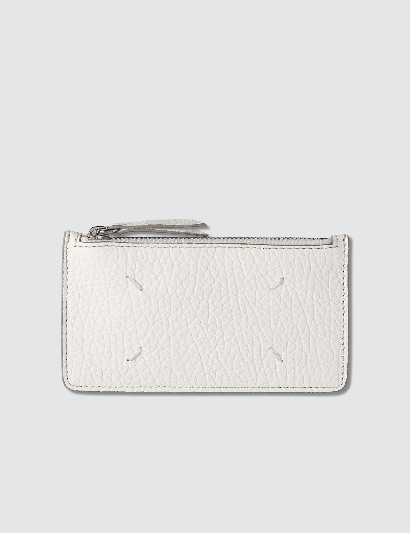 Zip Leather Card Holder