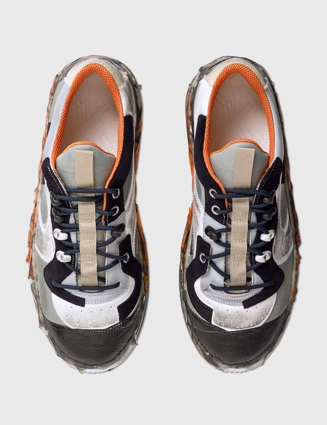 Maison Margiela Patchwork Sneakers White/grey/light Blue Men