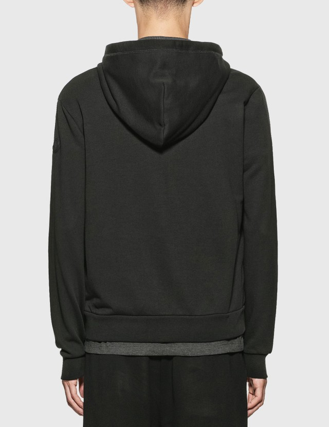 Moncler Sweat Hooded Jacket Black Men