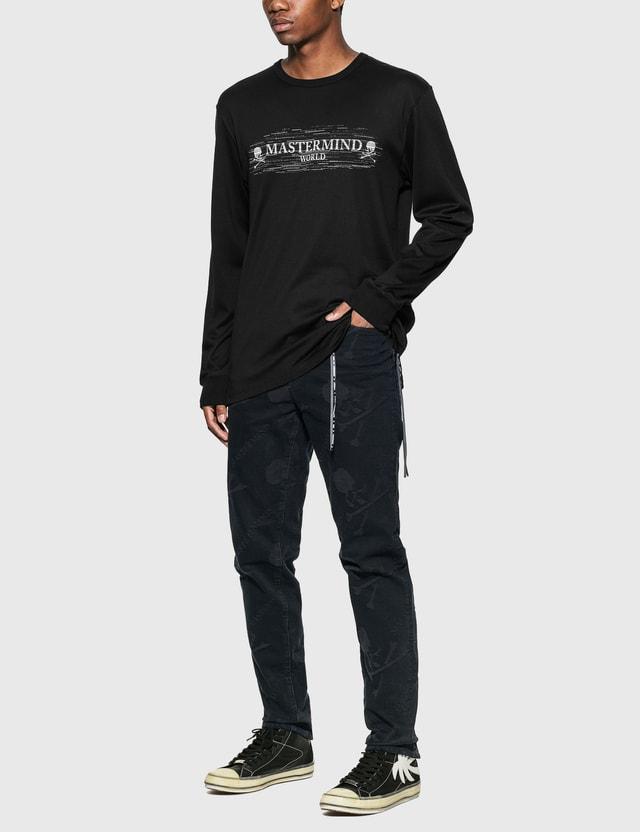 Mastermind World Noise Long Sleeve T-Shirt