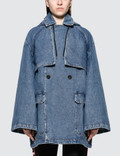 MSGM Denim Cape Picture