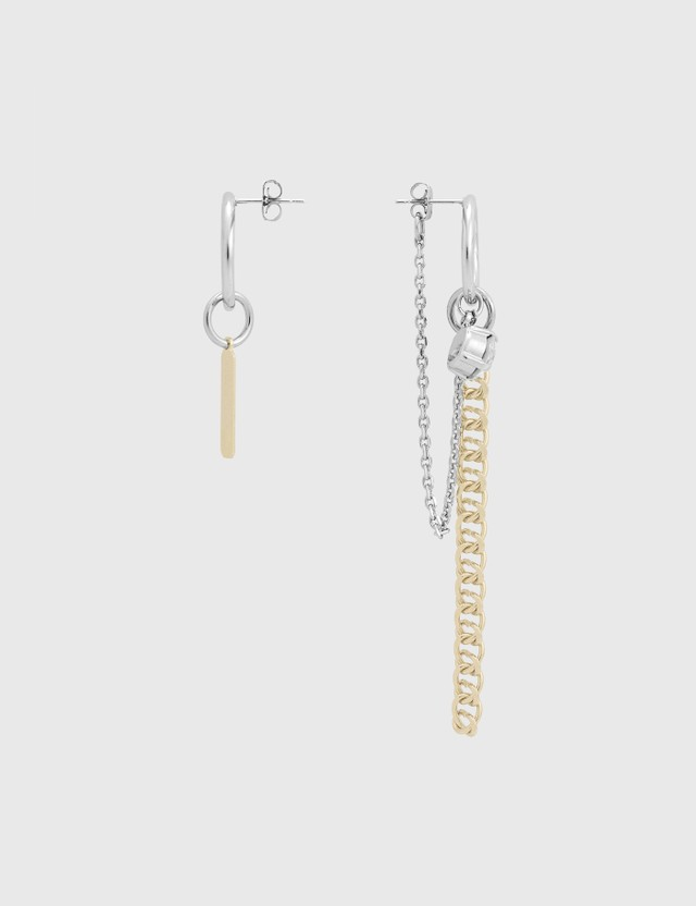 Justine Clenquet Chen Earrings Gold Women