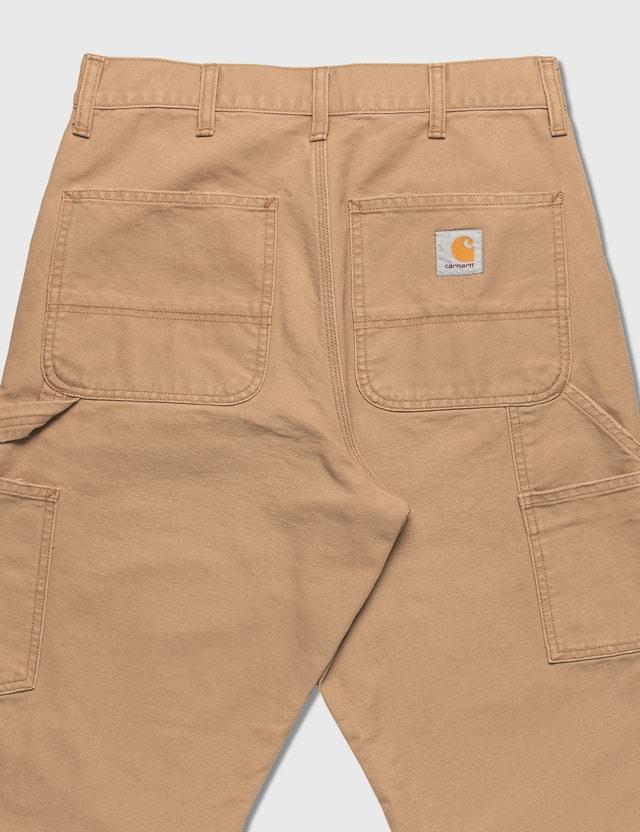 Carhartt Work In Progress Double Knee Pants Dusty H Brown Men