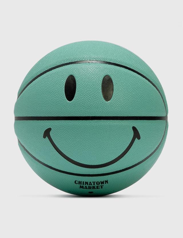 Chinatown Market Smiley Breakfast Basketball T Blue Unisex