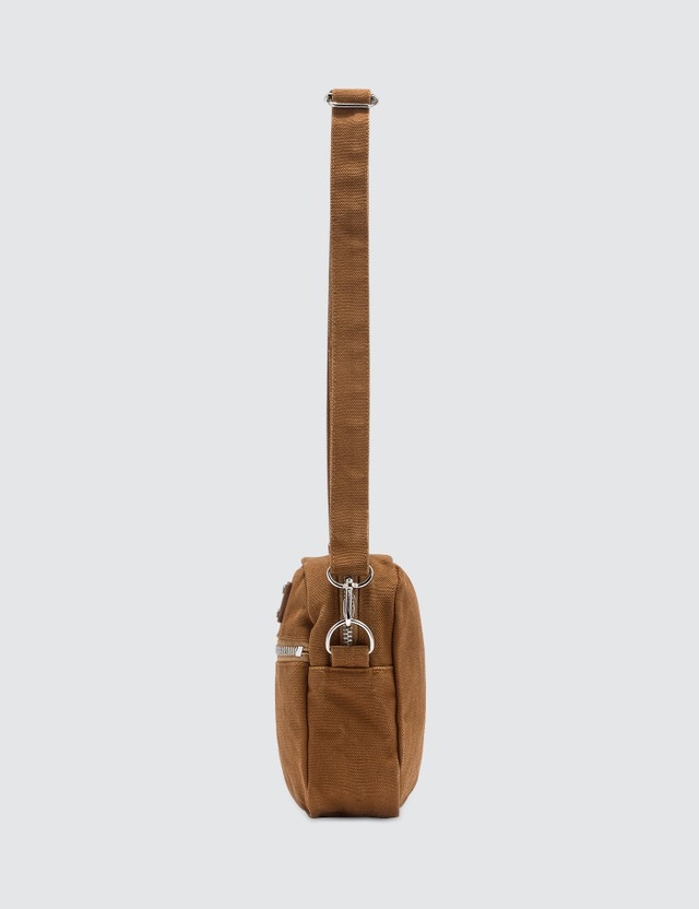 Wacko Maria Washed Canvas Shoulder Bag