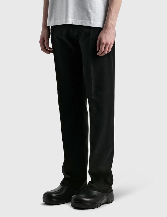 Random Identities High-rise 5 Pockets Trousers Black Men