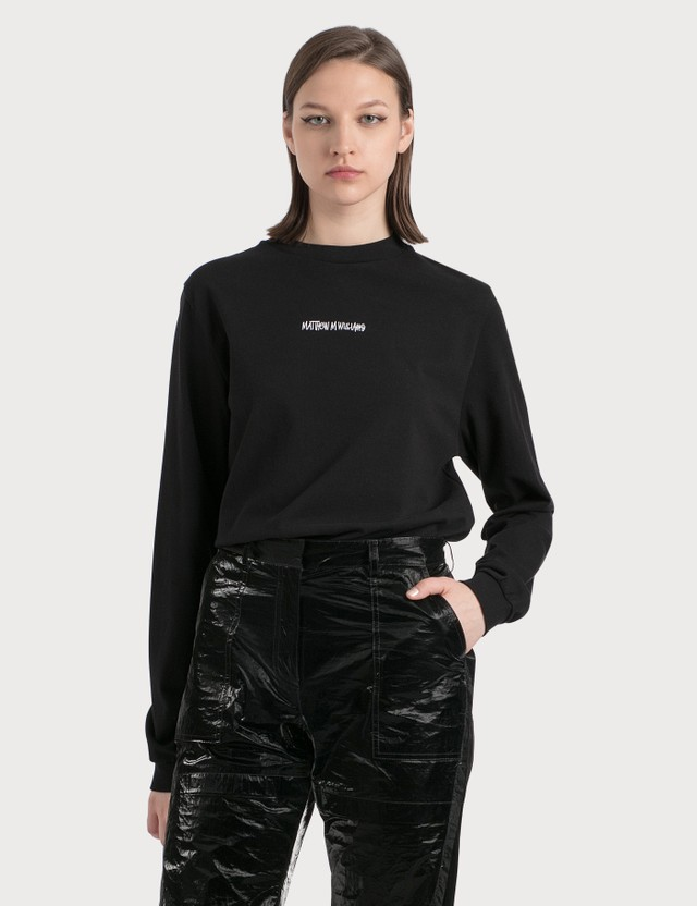 1017 ALYX 9SM 1017 ALYX 9SM x Stussy Long Sleeve T-Shirt Black Women