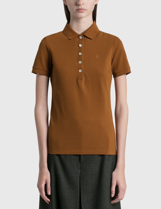 Maison Margiela Polo Tops Rust Women