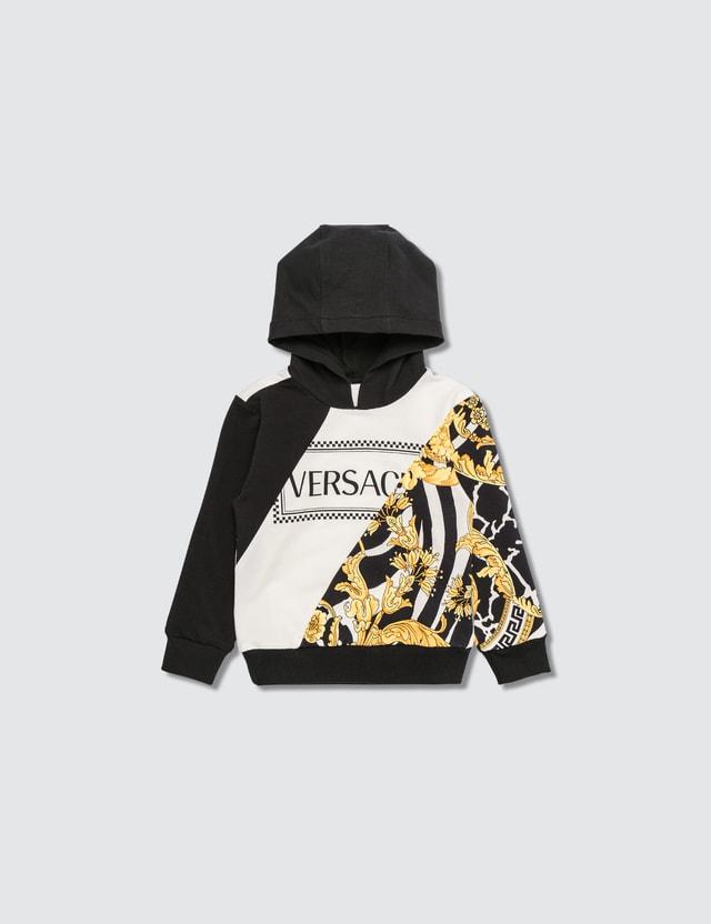 Versace Mixed Motif Hoodie