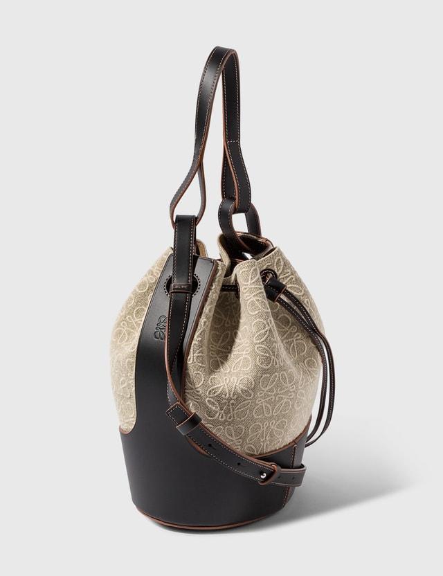 Loewe Balloon Bag Natural/black Women