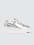 Joshua Sanders Silver Liberty Trainers Picture