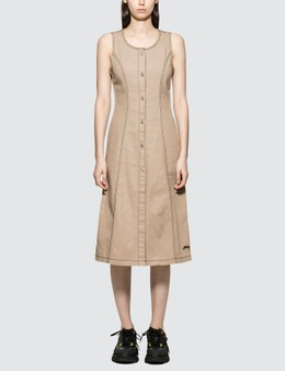 STUSSY | Stussy Bailey Contrast Stitch Dress | Goxip