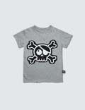 NUNUNU Skull Patch S/S T-Shirt