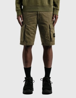 Stone Island Flap Pockets Cargo Shorts