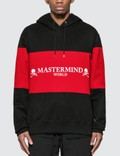 Mastermind World Paneled Hoodie With Logo Print Picture