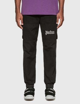 Palm Angels Logo Cargo Pants