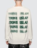 Stone Island Graphic Five Long Sleeve T-Shirt Picture