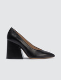 Maison Margiela Leather Block Heels Picutre
