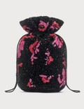 Ganni Hand Beaded Drawstring Bag 사진