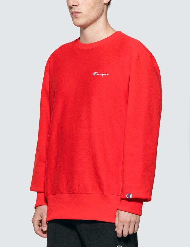 Champion Reverse Weave Small Script Logo Sweatshirt