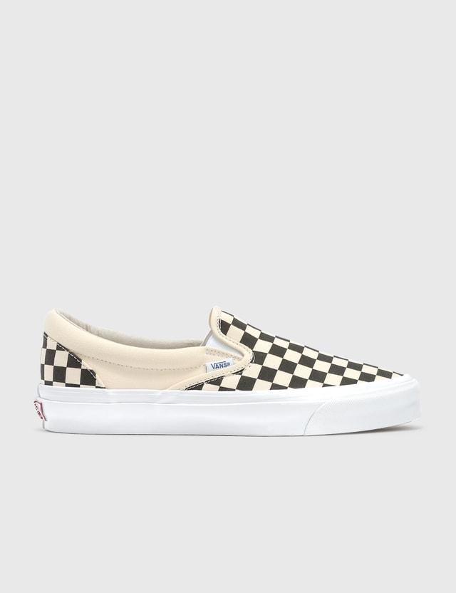 Vans OG Classic Slip-on (canvas) Checkerboard Men