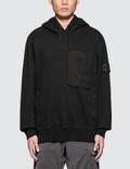 Stone Island Shadow Project Hooded Velcro Fastened Sweatshirt Picture